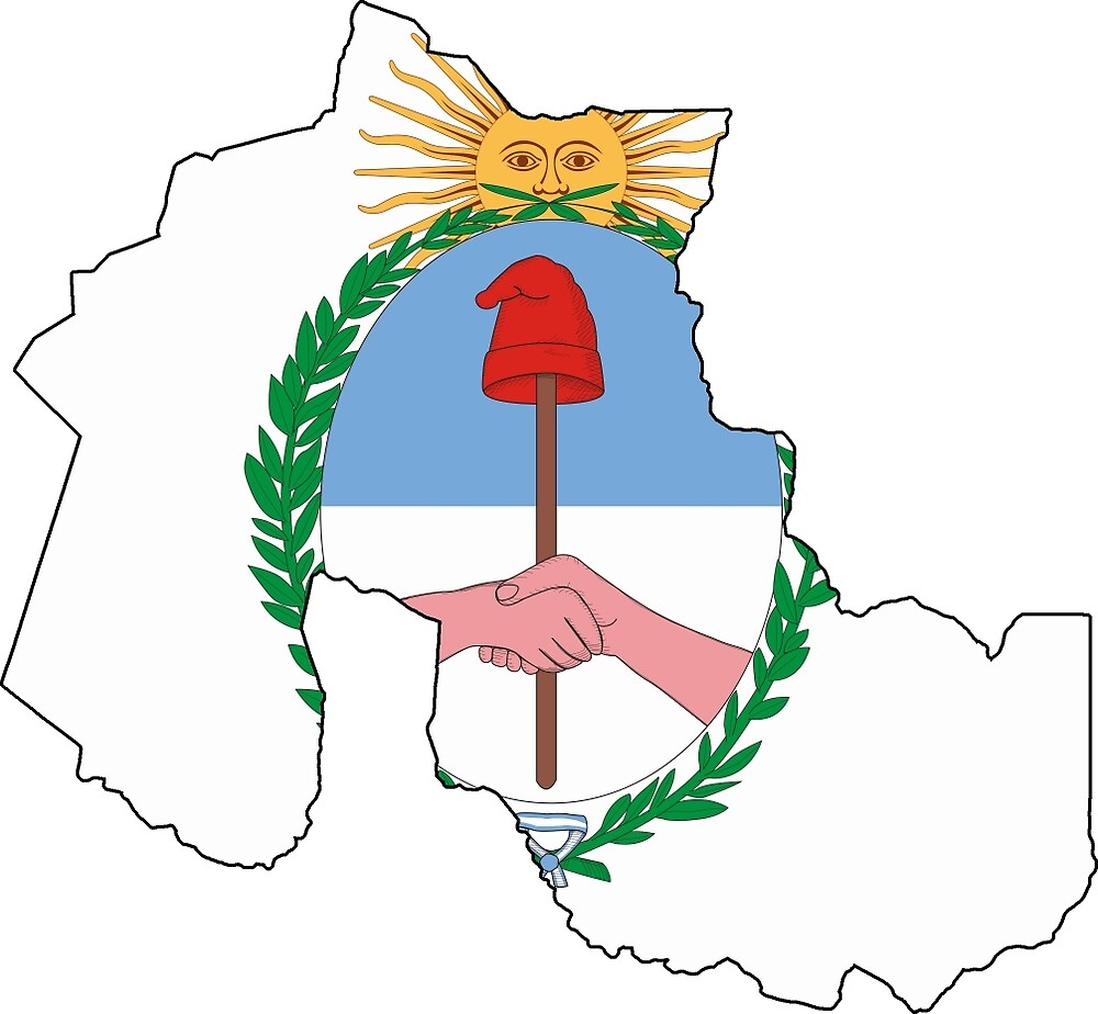 Flag Map of Jujuy Province by abbeyz71