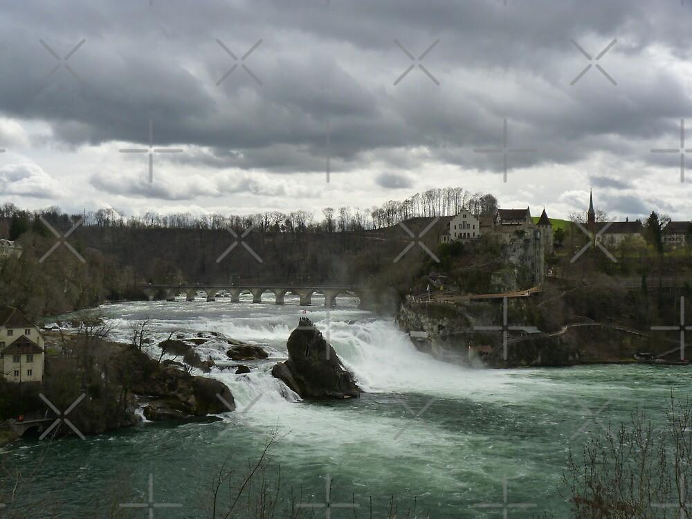 Rheinfall in Schauffausen by poupoune