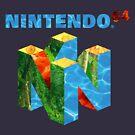 «Nintendo 64 Design» de nolatechmasters