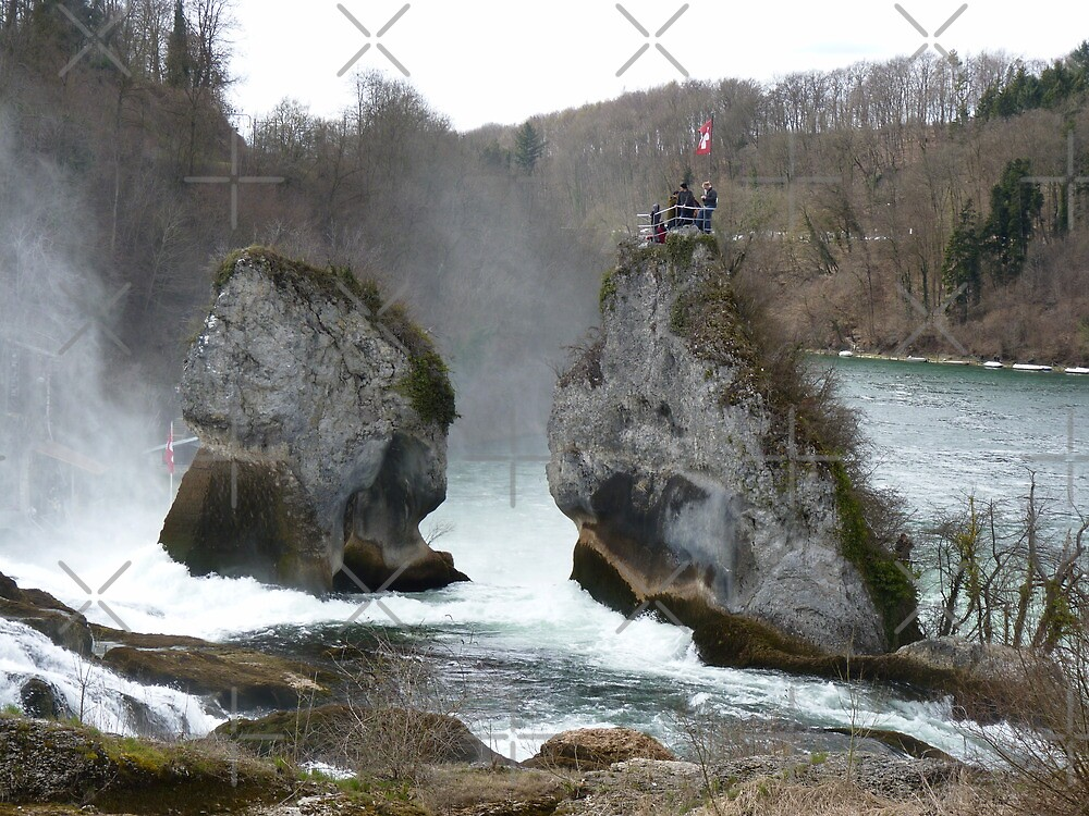 Rheinfall by poupoune