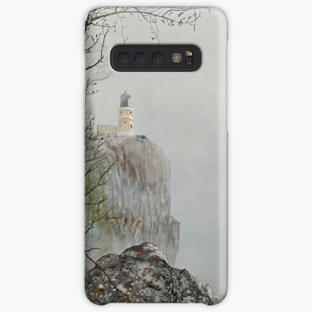 North Shore Lighthouse in the Fog Case & Skin for Samsung Galaxy