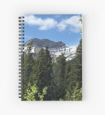 Crown of the Continent Spiral Notebook