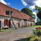 A French Farm by Adri  Padmos
