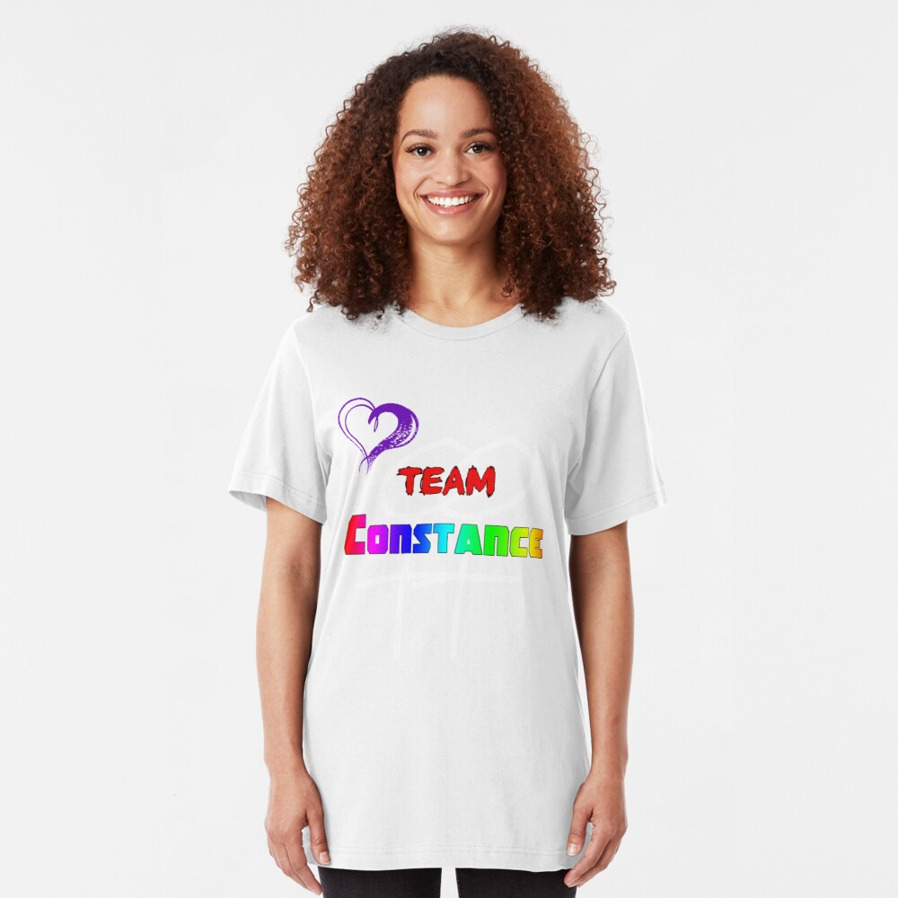 Team Constance! Slim Fit T-Shirt