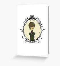 Graphic Novel illustration Greeting Card