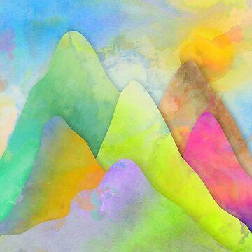 Mountain Peaks by Prawny