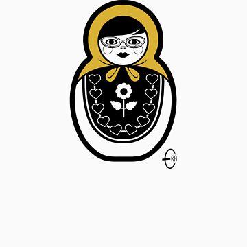 Russian Doll B by BizarroArt