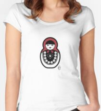 Russian Doll A Women's Fitted Scoop T-Shirt