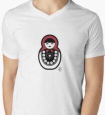 Russian Doll A Men's V-Neck T-Shirt