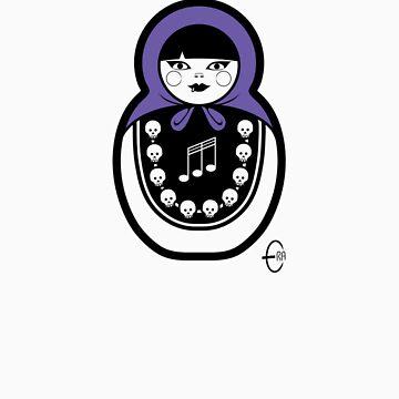 Russian Doll C by BizarroArt