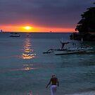 Boracay sunset 1 by PaulsPlace