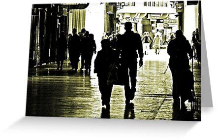 Walking in Shadows by Berns