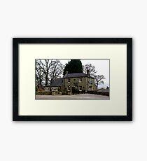 The Bridge Inn - Wath Framed Print