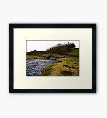 River Clover Bridge Framed Print