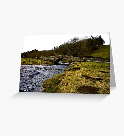River Clover Bridge Greeting Card