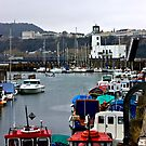 Scarborough Harbour #1 by Trevor Kersley