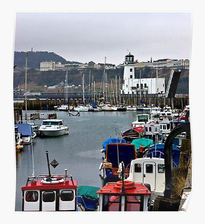 Scarborough Harbour #1 Poster