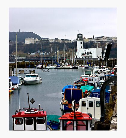 Scarborough Harbour #1 Photographic Print