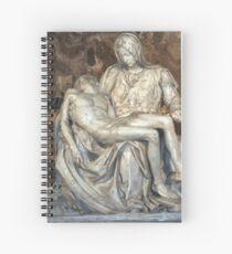Michelangelo's Pieta Spiral Notebook
