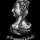 a portrait of famous Queen of France - Marie Antoinette  by kislev