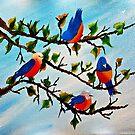 PRETTY BIRDS by WhiteDove Studio kj gordon