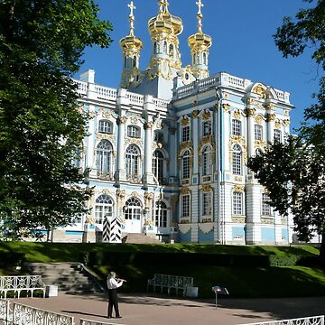 Catherine Palace, Pushkin, Russia. by Baynanno1