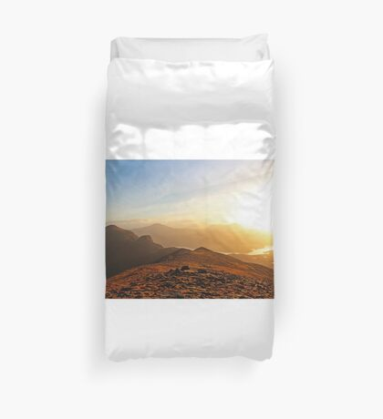 Afternoon Light - Quinag Duvet Cover