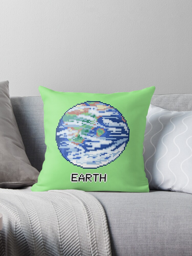 Pixel Planet - Earth by OhSweetie