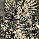 Albrecht Dürer..Coat of Arms for a printmaker  by edsimoneit