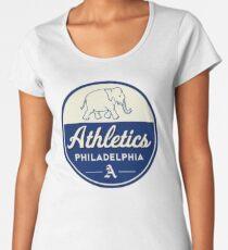 84f91f73d1242 Philadelphia Athletics - Vintage and Defunct Women s Premium T-Shirt