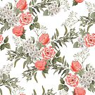 The Master Gardener **Coral Knockout Rose** #Porcelain White by MalapitDesign