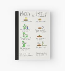 Paddy not Paddy  Hardcover Journal