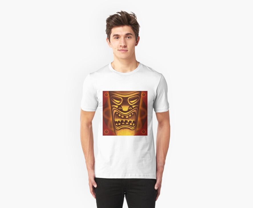 Atomic Tiki Logo T-shirt by Mike Cressy