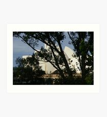 Can You See The World-Famous Landmark? Art Print