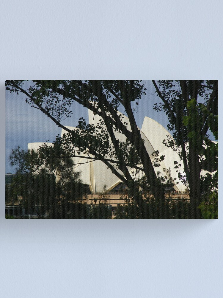 Alternate view of Can You See The World-Famous Landmark? Canvas Print