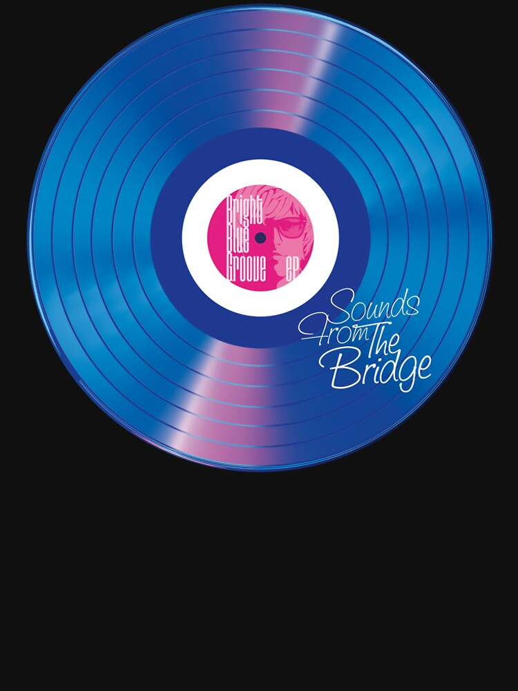 Sounds From The Bridge – Bright Blue Groove EP design by SFTB-designs