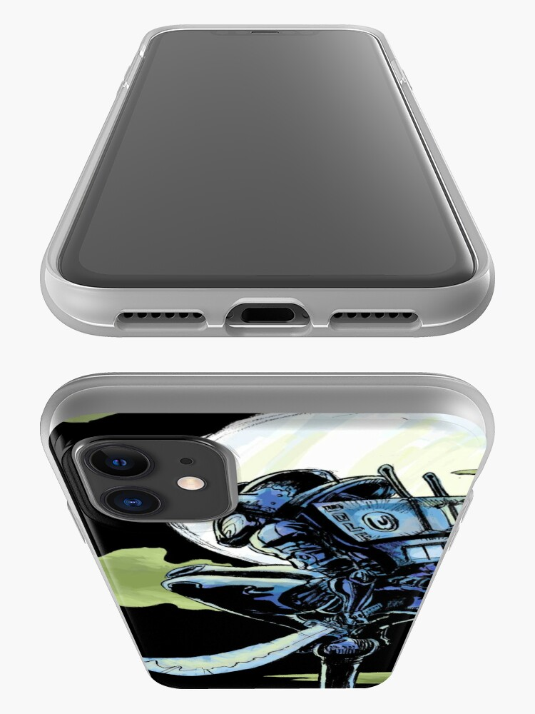 Alternate view of Blue - The Big Bad Wolf iPhone Case & Cover