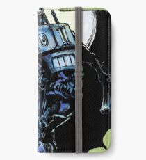 Blue - The Big Bad Wolf iPhone Wallet/Case/Skin