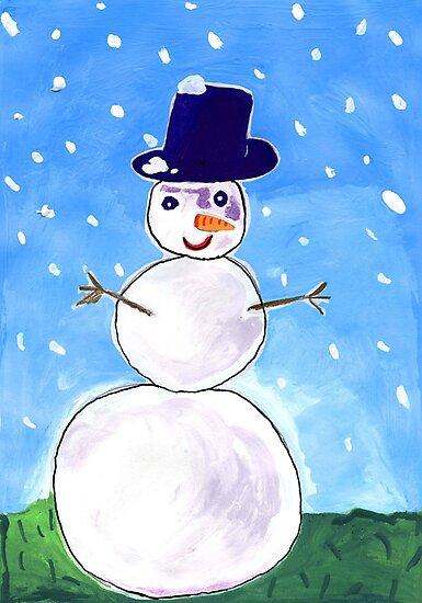 Snowman by John Douglas