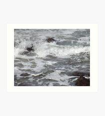 Awash With The Surf Art Print