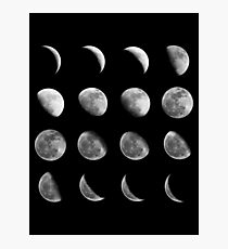 Lunar Cycle Photographic Print