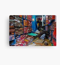 Fragments of Richness: An Indian Expose - the bookmaker Canvas Print