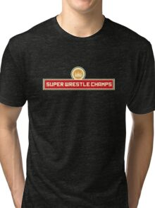 Super Wrestle Champs Tri-blend T-Shirt