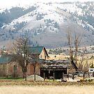 rural Oregon Housing by Dave Sandersfeld