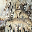 Milky Stalactities Inside Lewis and Clark Caverns  by Tranquility