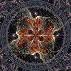 Meditation Mandala von Sankofa