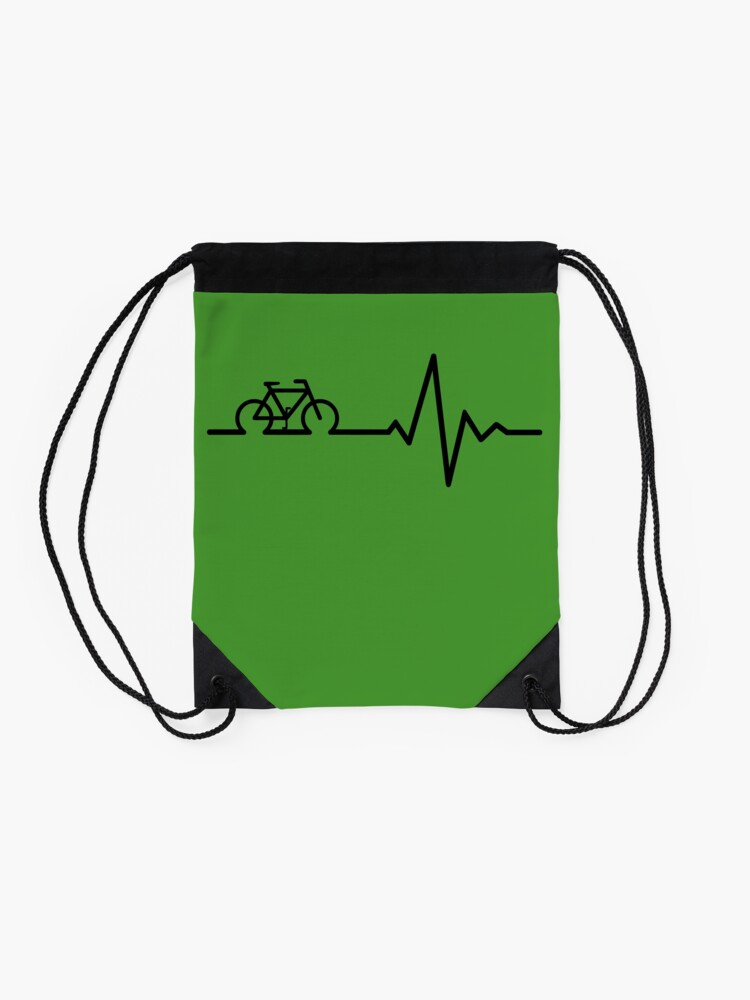 Alternate view of Bike Life Drawstring Bag