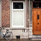 Street scene Maastricht, Netherlands by Jeff Hathaway