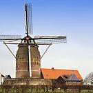 Netherlands Windmill by Jeff Hathaway