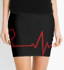 Red Wine Life Mini Skirt